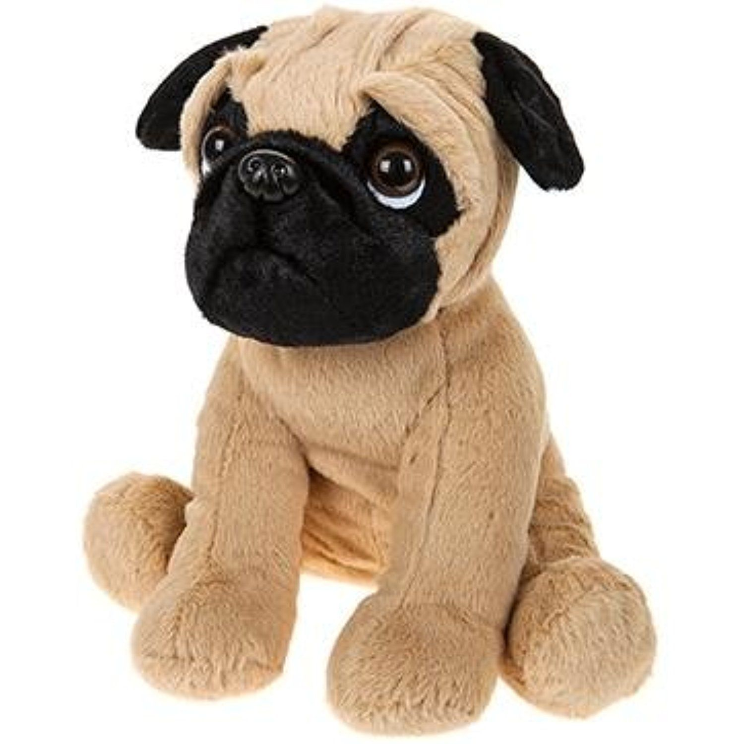 30cm Sitting Pug Dog Plush Toy Soft Toys Want To Know More