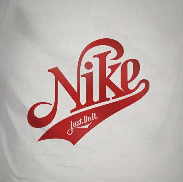 Tipografía Nike por Mats Ottdal