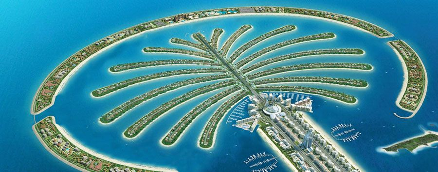 Palm Jumeirah نخلة جميرا Palm Jumeirah Palm Islands Cool Places To Visit