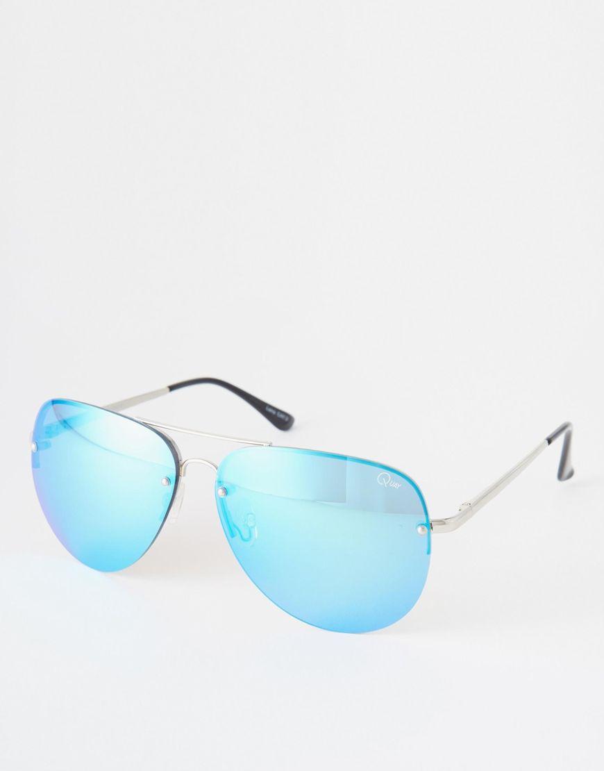 Quay Australia x Amanda Steele – Aviator Sunglasses