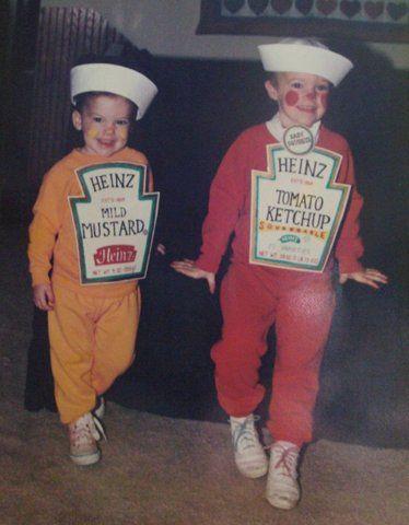 ketchup moztard costume