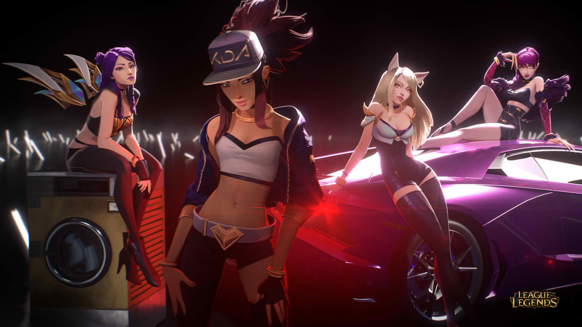Image Result For Akali Kda Music Video League Of Legends Lol League Of Legends League Of Legends Characters