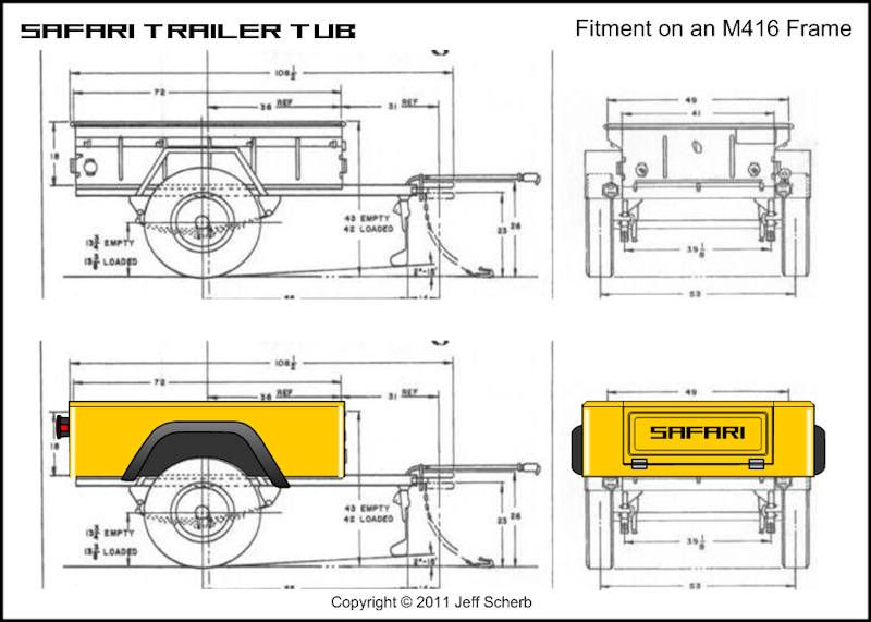 bolt together fiberglass jeep tub trailer kit page 132 jeepforumcom