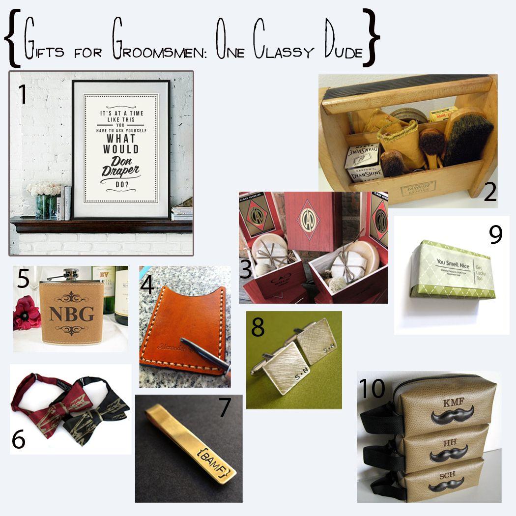 Bridesmaid Groomsmen Gifts
