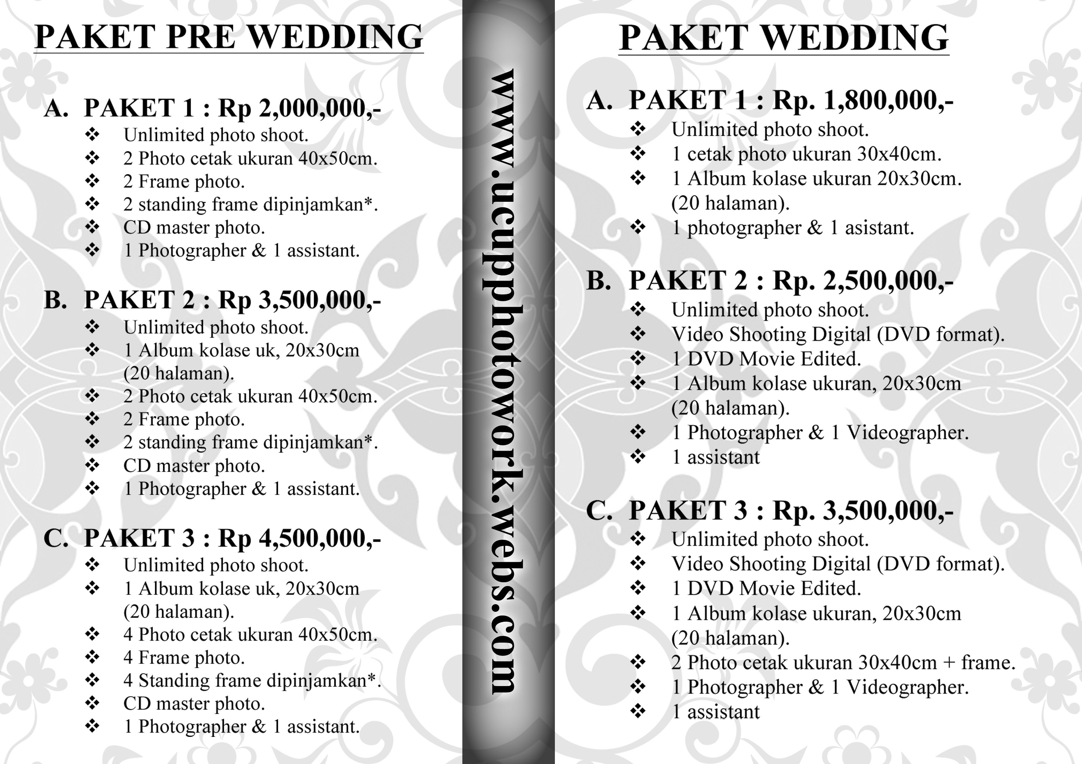 Promo Diskon Murah Paket Wedding Nikah Pranikah Prewedding