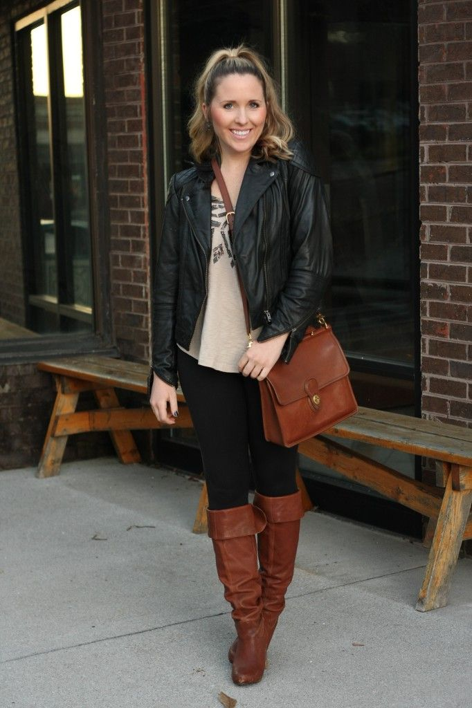 Mixing Black and Brown. | Fashion in the Wild | Pinterest ...