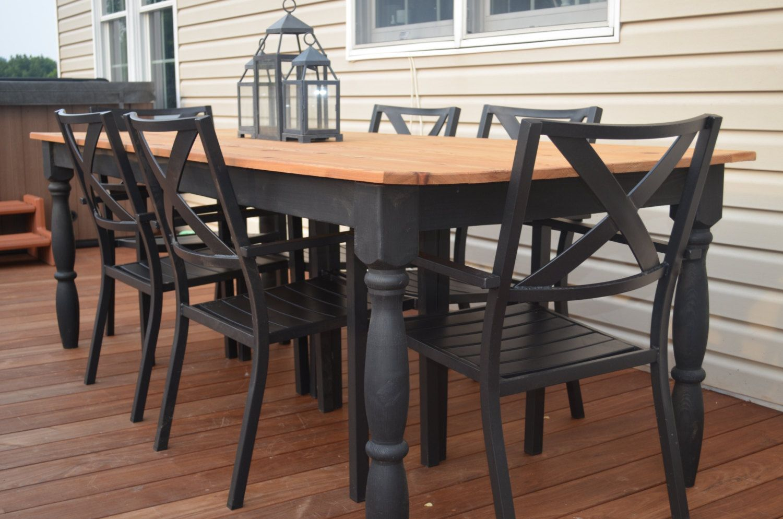 Image result for farm table patio | backyard ideas | Pinterest