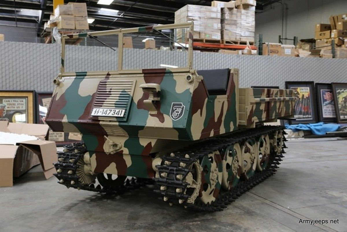 For sale: 1944 WWII GERMAN ARTILLERY TRACTOR | Vehicle, German and ...