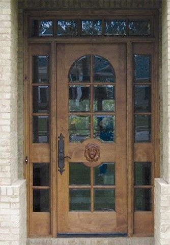 Custom Wood Doors Divided Lite By Design Daphne