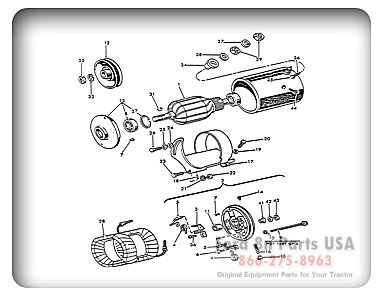 Parts For Your Ford 8n Tractor With Diagrams Tractors Tractors For Sale Ford Tractors