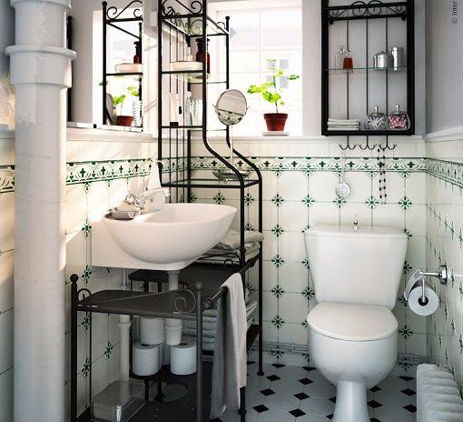 Baños Ikea con un toque vintage: inspiración retro - mueblesueco ...