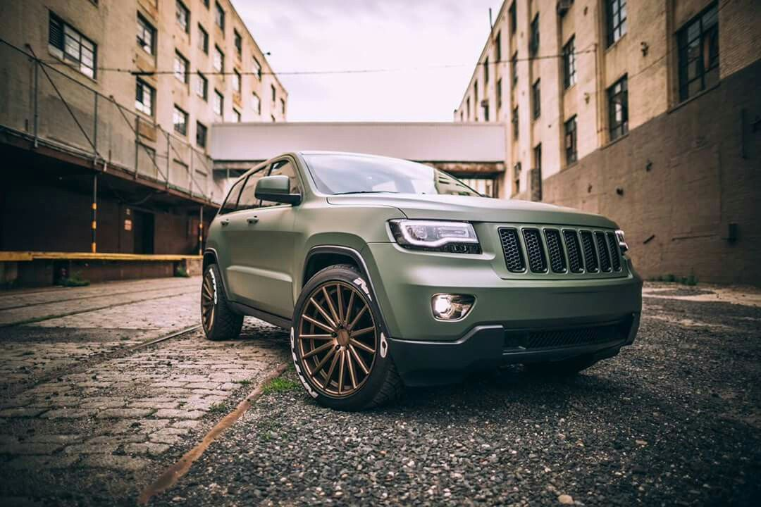 Matte Army Green 2013 Jeep Grand Cherokee Jeep Grand Cherokee Jeep Grand 2013 Jeep Grand Cherokee