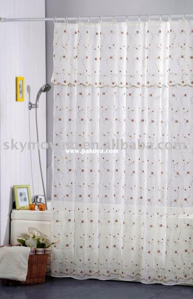Extra Long Shower Curtains Fabric | Shower Curtain | Pinterest ...