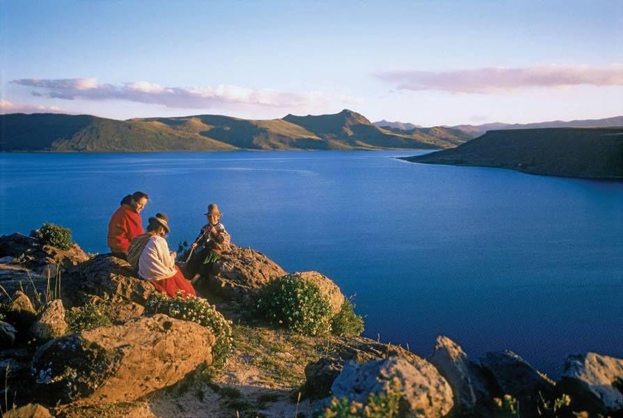 Reserva nacional del lago titicaca