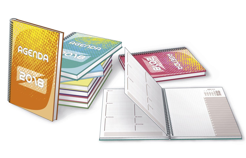 Agenda diaria 2018 Premium - Recursos y plantillas InDesign y HTML ...