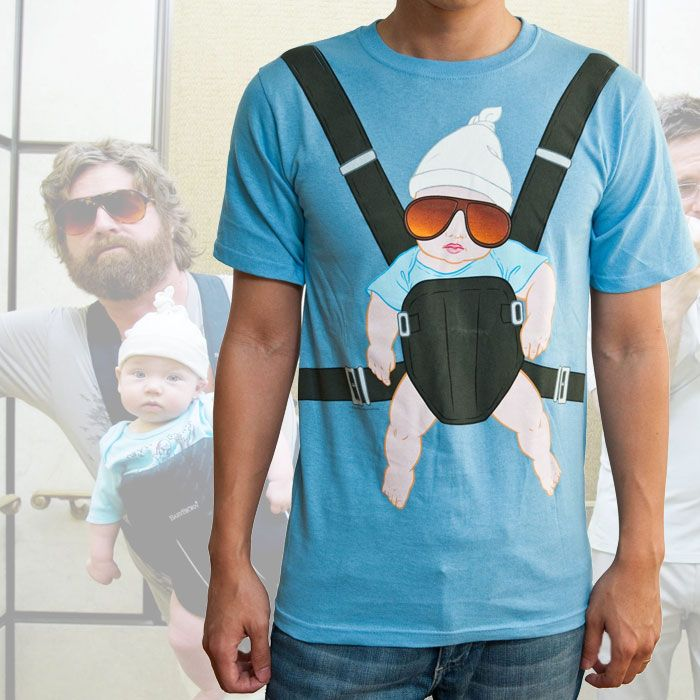 Six things shop - The Hangover Alan and the baby carrier tee