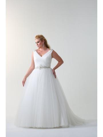 Venus Woman Bridal VW8684 Plus Size Bridal Gown 712 No Upcharges