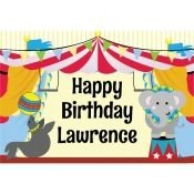 Circus Party Personalized Party Sign