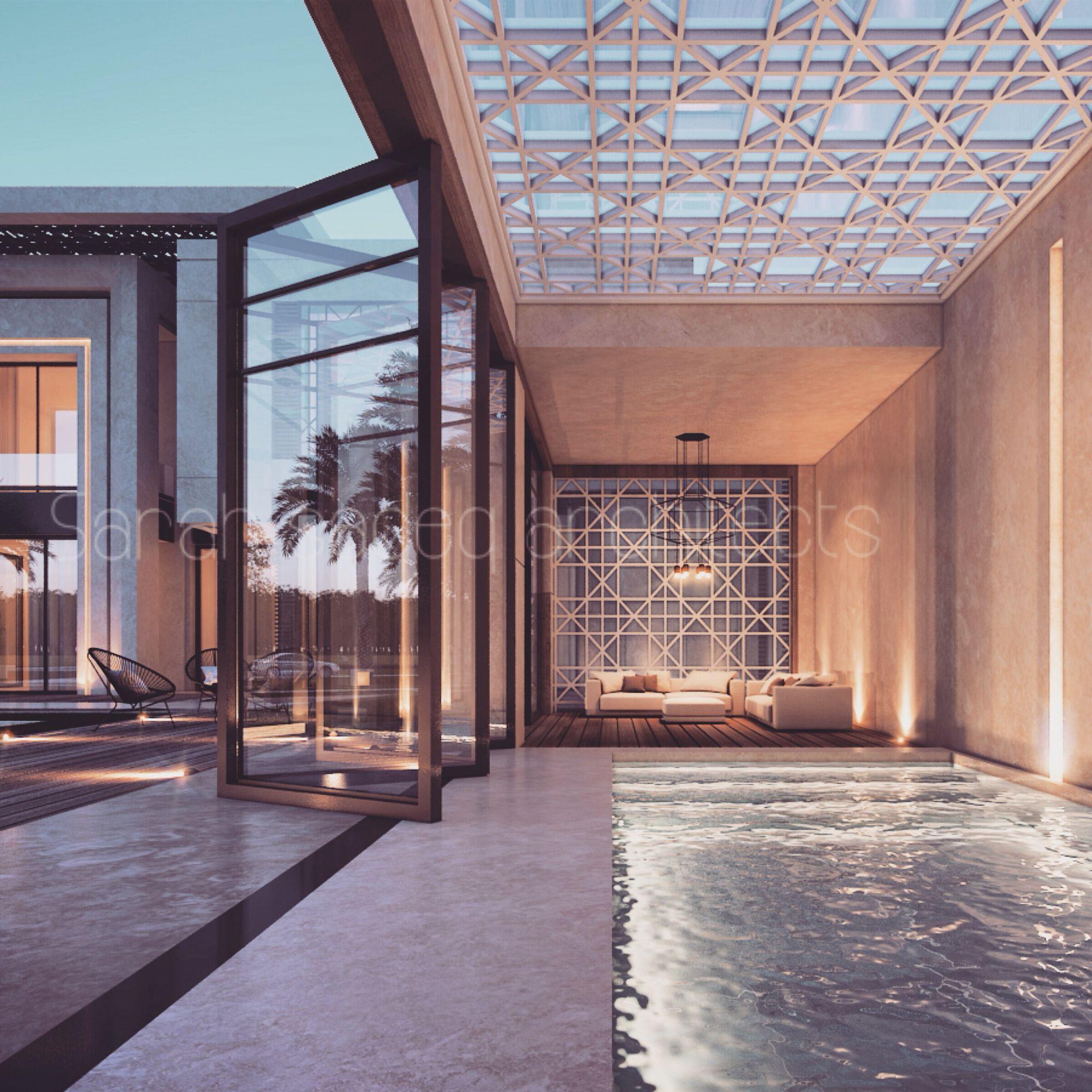 2000 Plot Private Villa Kuwait Sarah Sadeq Architects