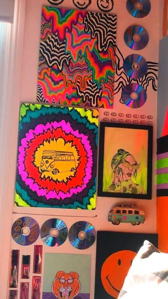 Indie Aesthetic Room Decor Indie Painting Ideas See More Ideas About Indie Kids Aesthetic Indie Indie Girl