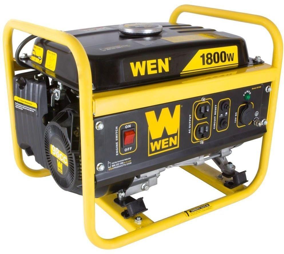 Wen 1800 Watt Gasoline Portable Heavy Duty Power Tool Generator Carb Compliant Wen Gene Best Portable Generator Portable Generator Portable Power Generator