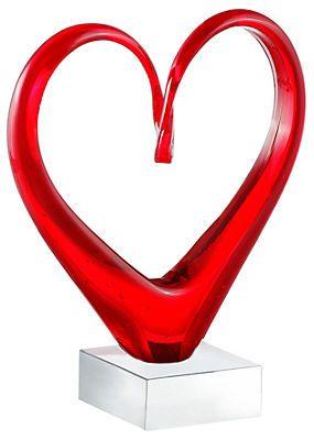 Skulptur, Leonardo, »Heart« im Universal Online Shop