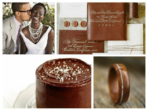 Painel de inspiração marrom + Casamento | Andrea Velame Blog