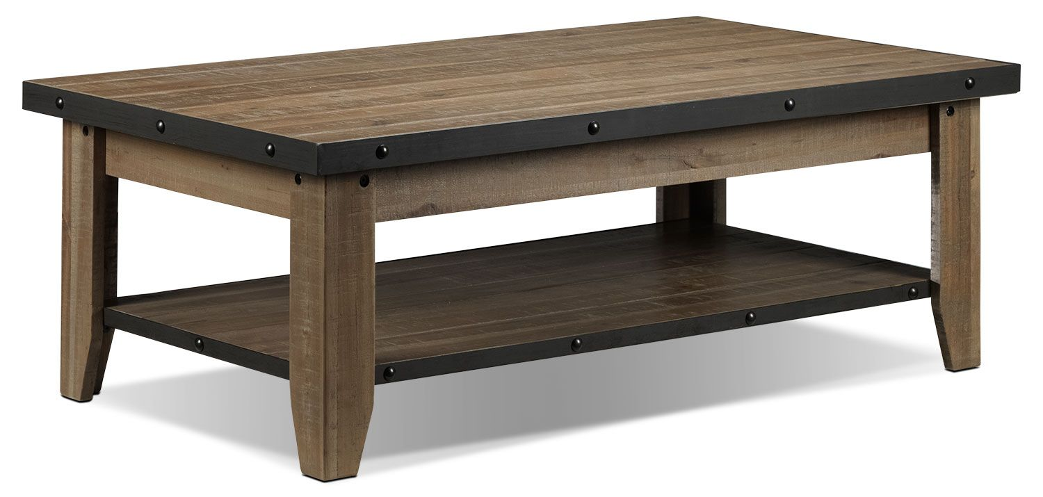 Natural Beauty The Walton Coffee Table Is Distinguished By