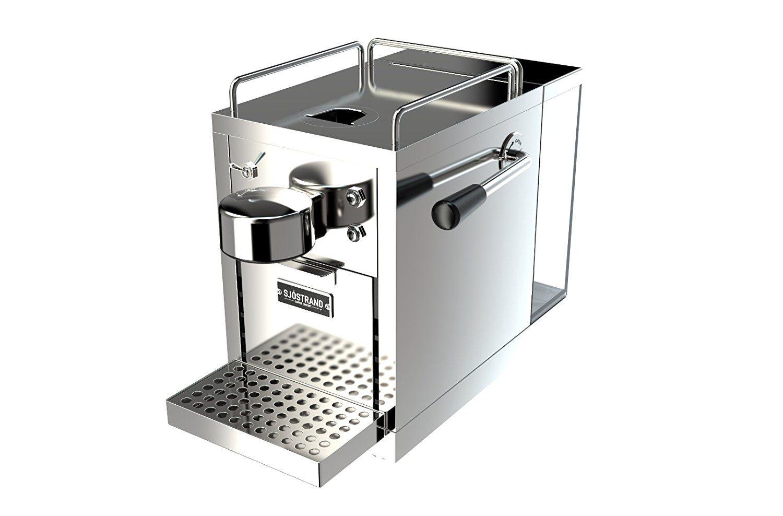 Sjöstrand espresso capsule machine compatible with the nespresso