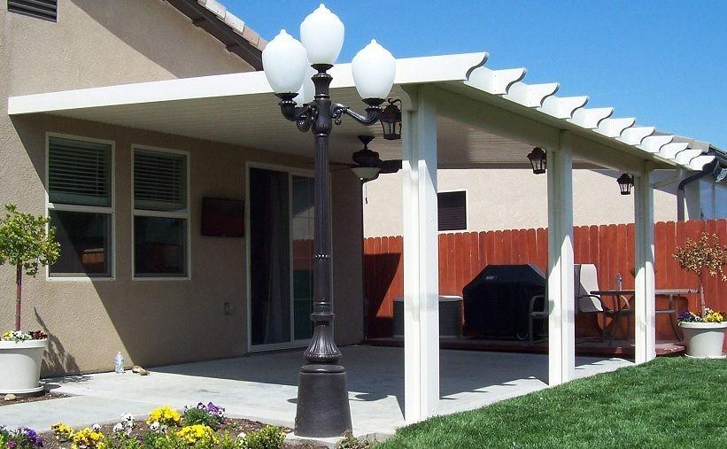 patio cover kits aluminum patio