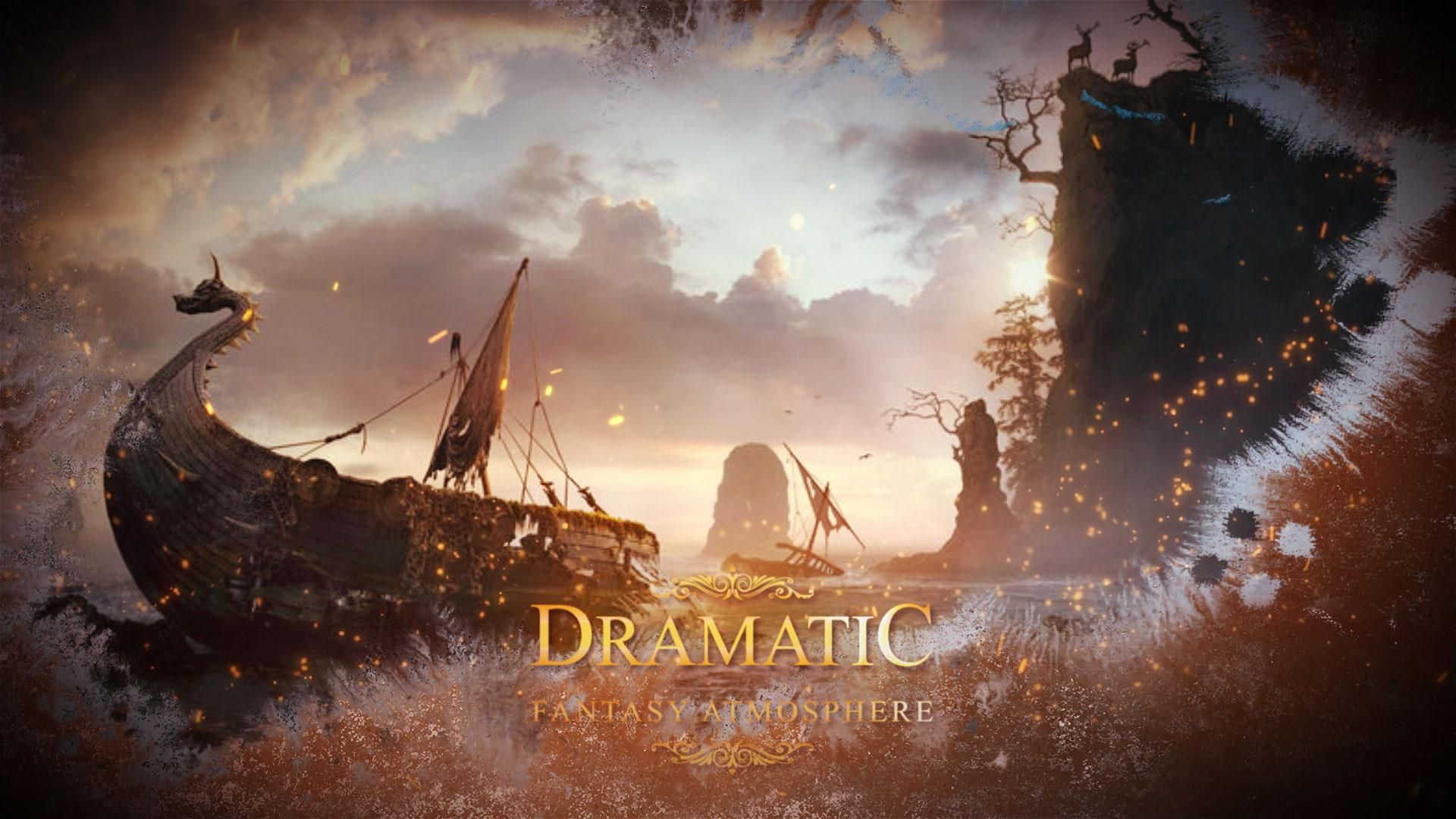 This project perfect for trailers, epic and atmospheric