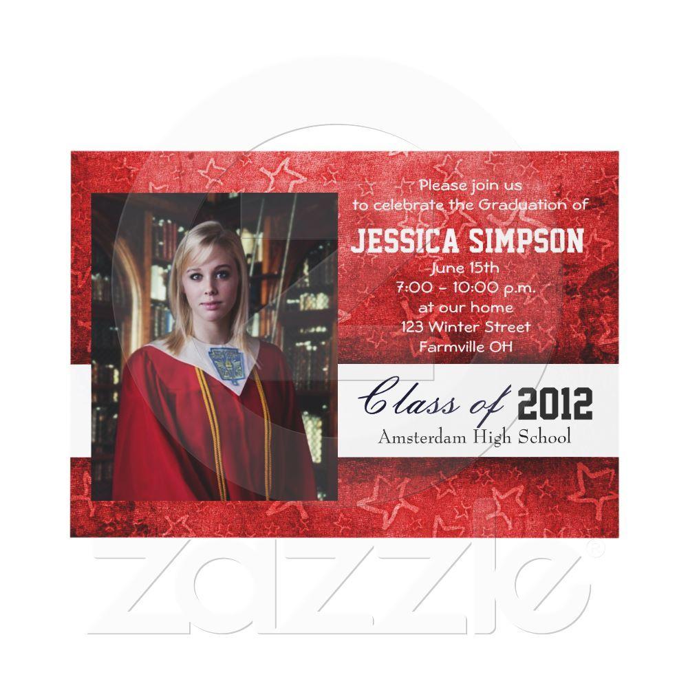 Graduation Invitation Cards | Graduation invitations, Invitation ...
