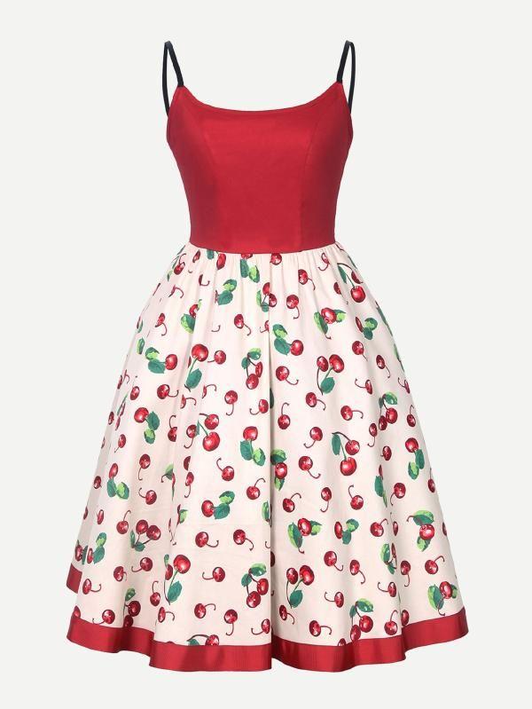 b1deadc290eb8 Winsellers Women Vintage Fashion Classical Style Summer Dress Polka Dot  Short Sleeve Big Swing Dresses
