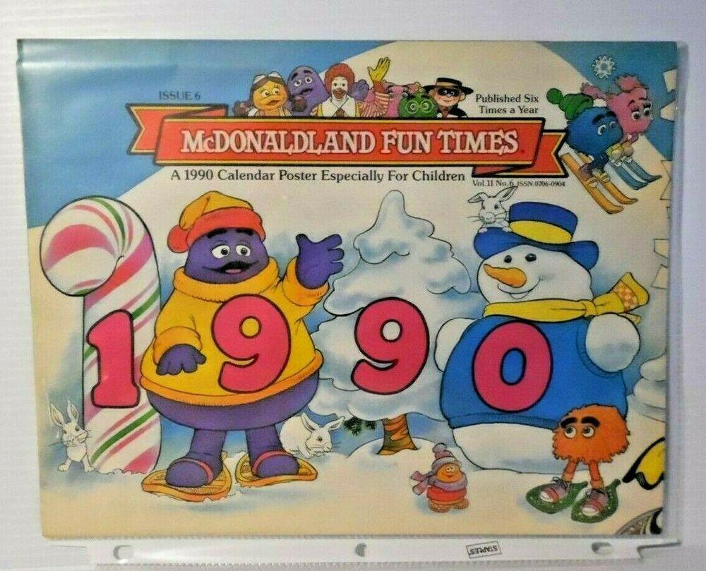 Mcdonalds Kalender