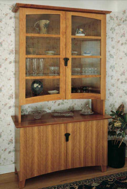Free Plans Woodworking Woodworker S Journal China Cabinet Cherry China Cabinet Cabinet Woodworking Plans