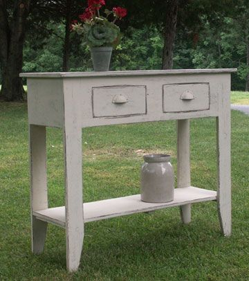 Excellent Pmwn146 Primitive Sofa Sideboard Table Pattern Country Machost Co Dining Chair Design Ideas Machostcouk