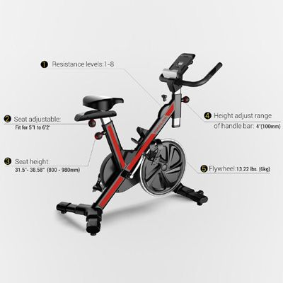 Fitleader Fs1 Indoor Cycle Review With Images Biking Workout
