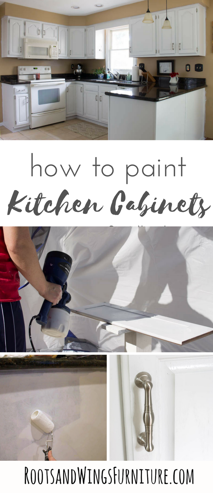 How To Paint Your Kitchen Cabinets White White Kitchen Cabinets Kitchen Cabinets Diy Kitchen Cabinets