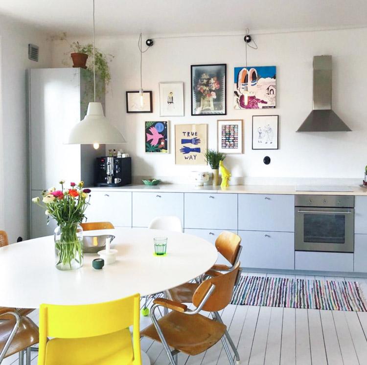 My Scandinavian Home A Cheerful Swedish Home With A Tropical Scandinavia Theme In 2020 My Scandinavian Home Scandinavian Home Swedish House