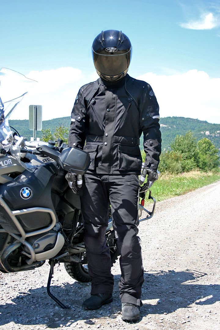 0dc29e38861ff Ballistic Revolution Jacke — C.E. certified armor. Waterproof textile  adventure touring motorcycle jacket
