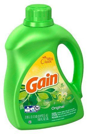 Gain Hec Original Liquid Laundry Detergent 200 Oz 5 Gc Click