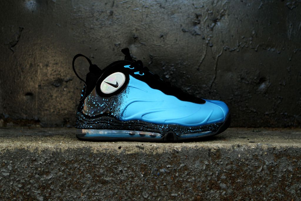 "Nike Total Air Foamposite Max ""Current Blue"" Nike, Air"