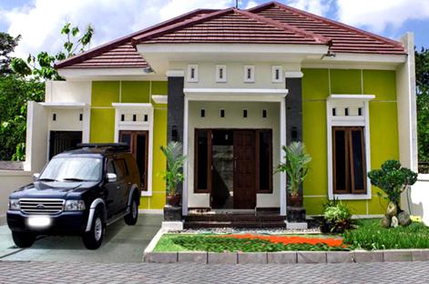 Warna Cat Depan Rumah yang Bagus Rumah hijau, Rumah