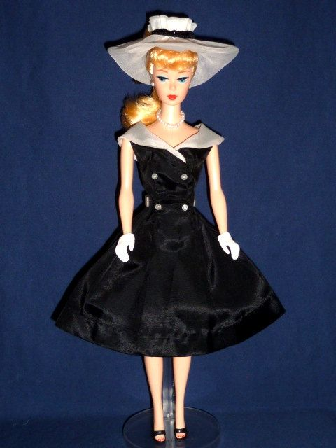 Pin By Straylight Vintage On Little Black Dress Look What Coco Did Dress Hats Vintage Barbie Clothes Barbie Clothes For Sale