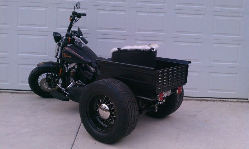 Harley Trike with mini truck bed | Tricycle motorcycle ... on