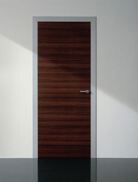 Modern Painted Interior Doors light universal swing door - contemporary - interior doors - -