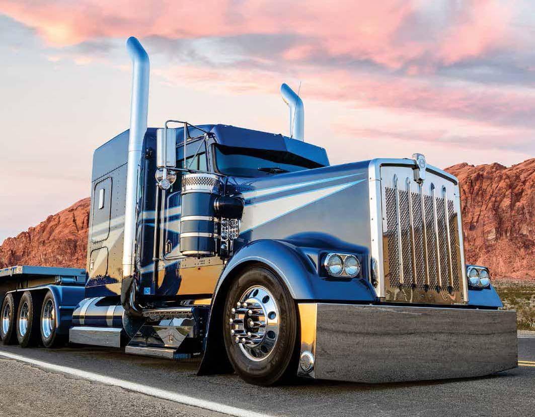 Kings of the Road | Custom trucks, Trucks, Big rig trucks