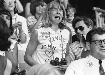 That's me, tomorrow, when Paul McCartney starts singing whatever song he's going to sing... <3
