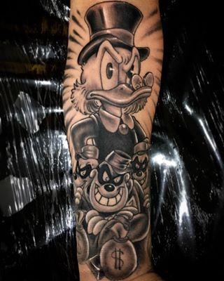 Essa So Jogar Barras Tio Patinhas Tattoo Tatuagem Tio