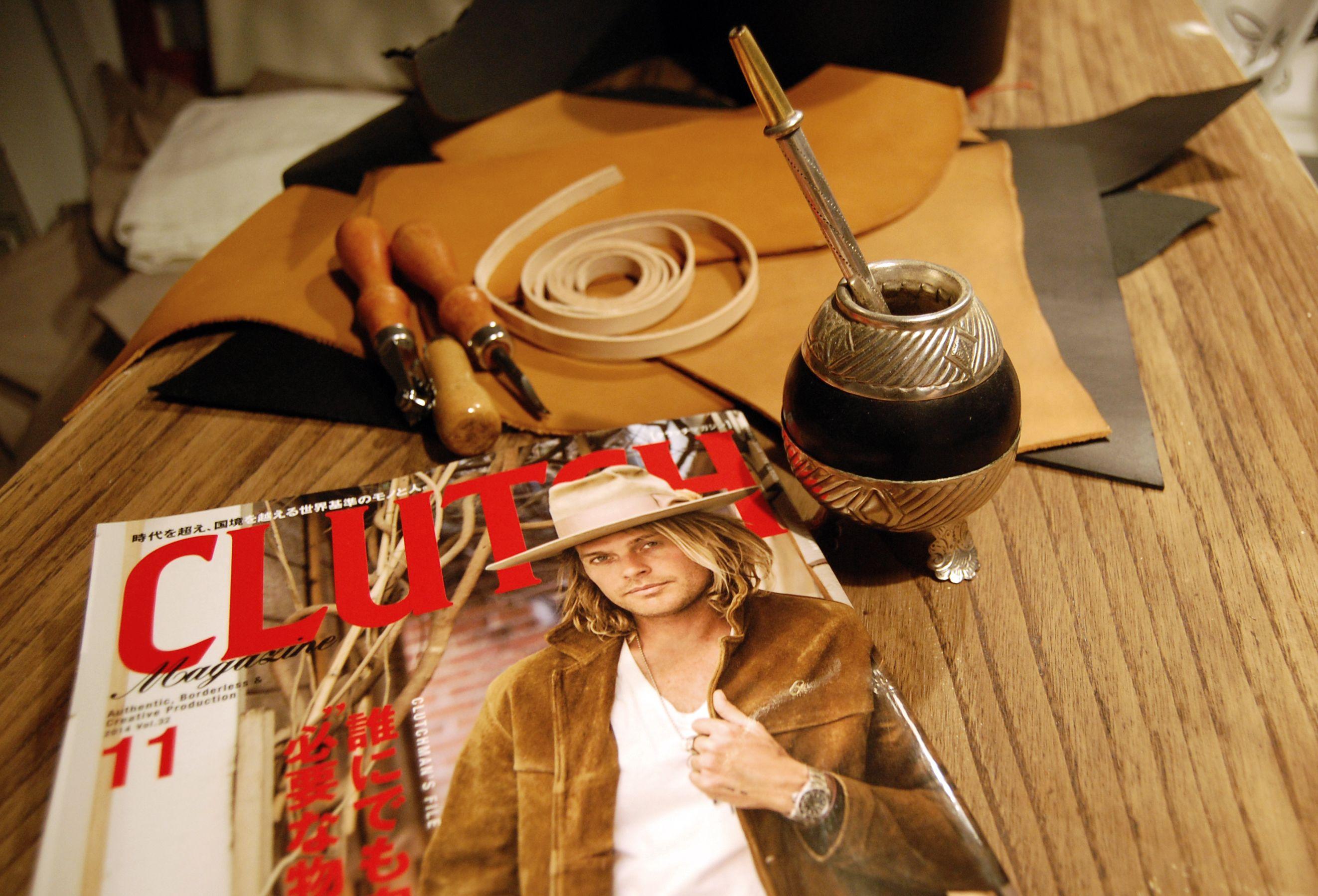 Matiando ...!!! BrambySupplyCo. #CLUTCHMagazine #clutchmagjapan #nickfouquet